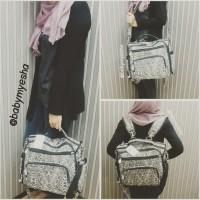 harga Tas Bayi ELLE Original 3 in 1 Baby Diaper Bag Ransel Backpack Punggung Tokopedia.com