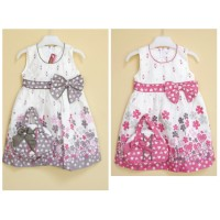 baju dress anak perempuan/gaun anak / baju natal /baju ulang tahun