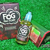 FOG FACTORY STRAWBERRY Premium Liquid Malaysia