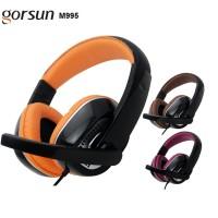 Headset + Mic Gaming Gorsun GS-M995 Gamer Headphone Earphone Bass Super
