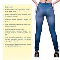Slim n Lift Jeans / Celana Legging Burn Fat (Jeans)