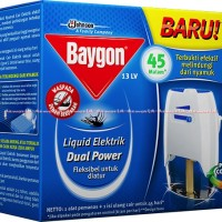 Baygon Liquid Elektrik Anti Nyamuk Elektik Obat Nyamuk 45malam 45Hari