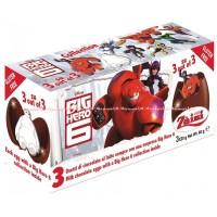 Zaini Big Hero Coklat Disney Milk Chocolate Eggs Surprise Coklat Telur