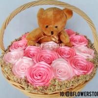 harga Buket Bunga Wisuda Basket Keranjang Boneka Edelweis Edelweiss Tokopedia.com
