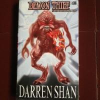 Darren Shan Novel Demon Thief (Sang Pencuri Iblis)