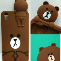 CASING / CASE HP SAMSUNG J1 ACE / J1 2016 / J1 MINI BROWN LINE