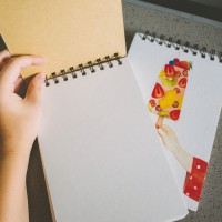 Have A Good Taste Spiral Plain Notepad