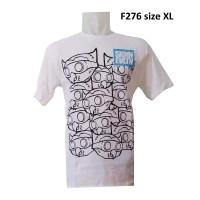 F276 Kaos Gambar Burung Kaos Doodle Burung Kaos Gambar Hewan Kaos cool