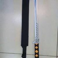 harga PEDANG SAMURAI KATANA SENTER STEEL BAJA IMPORT P127 Tokopedia.com