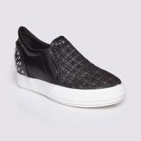 Jual Sepatu Wanita Slip On Black by Adorable JJ (07880944) Murah