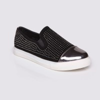 Jual Sepatu Wanita - Slip On Black by Adorable JJ ( 07890049 ) Murah
