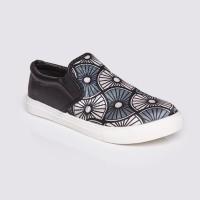 Jual Sepatu Wanita Slip On Black by Adorable JJ ( 07886151 ) Murah