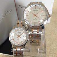 jam tangan couple alexandre christie 8511 original(fossil, expedition)