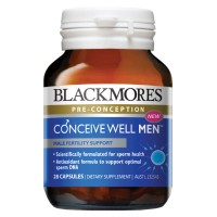 Blackmores Conceive Well Men - 28 caps