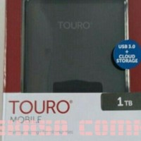Jual HDD EXTERNAL HITACHI TOURO 1TB Baru | Hard Disk Memory Komputer
