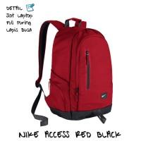 Tas laptop ransel sekolah pria / wanita / remaja Nike Murah