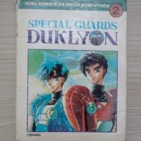 CLAMP Special Guards Duklyon Komik Langka Jadul