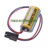 Mitshubishi Baterai Lithium A6BAT ER17330V 3.6v PLC Battery PA01