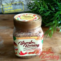 Jual Sambel Pecel Madiun Bambu Kuning | Extra Pedas | Bebas Kolesterol Murah