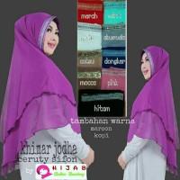 Jual jilbab KHIMAR JODHA | hijab dan kerudung instan | real pic