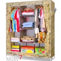 lemari rak pakaian jumbo lemari baju clothrack lemari r Diskon