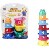 Educational Animal Stacker Kids Toys Berkualitas