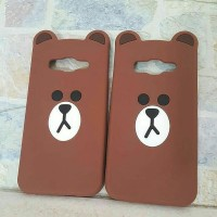 Case BROWN FACE Samsung A Series / J Series / E series / S / Grand