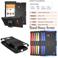 Harga rugged armor lumia 730 case cover heavy duty nokia micr | Pembandingharga.com