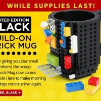 Think Geek TG300 Red Build-On Brick Mug Diskon