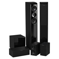 Wharfedale Obsidian 600 Speaker 5.0 For Home Theater & Music Stereo