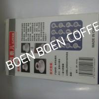 Gater Coffee Stencil - Latte Art - Penghias Kopi Bahan Logam