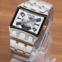 POLICE Watch Square Dimension (Gold Silver)