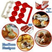 Jual Mighty Meatball Alat Cetakan Cetak Bola Bakso Meat Ball Kitchen Cookin Murah