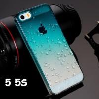 iPhone 5 / 5S / SE 3D Rain Water Drops Hardcase