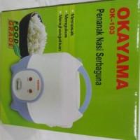 OKAYAMA 103 Magic comp 3 in 1/Penanak Nasi Serbaguna Kap 1 lt