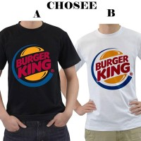 Kaos Anime Burger King -