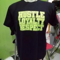 Kaos Anime WWE JOHN CENA HUSTLE LOYALTY RESCPECT, U C ME ( LIMITE
