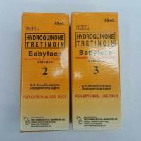 RDL hydroquinone tretinoin baby face Original /TONER RDL