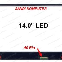 LCD LED Laptop Lenovo Y400 Y410P Y470 Y470P Series, 14.0 Inch Slim