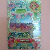 Kartu Aikatsu Premium Sakura Aurora Fantasy Bloom Skirt Bottoms Seri 4