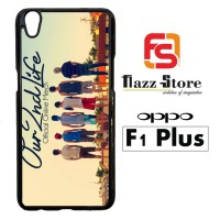 our second life logo Y1586 Casing HP Oppo F1 Plus Custom Case Cover