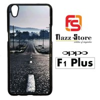 Long empty road Y1601 Casing HP Oppo F1 Plus Custom Case Cover