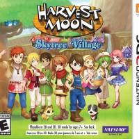 3DS HARVEST MOON SKYTREE VILLAGE