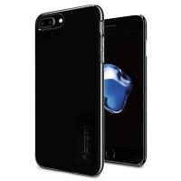 Spigen iPhone 7 Plus Case Thin Fit - Jet Black