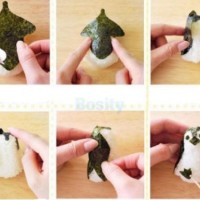 Penguin Onigiri Ball Sushi Tool Set Roll Making Kit Limited