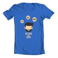 Kaos Design with Code Desain Distro (Gamer / Programmer / Geek Shirt)
