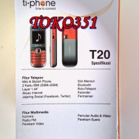 harga Handphone Handphone Tiphone Ti Phone T20 T 20 Murah Kecil Tokopedia.com