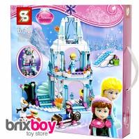 Jual Lego Frozen Princess Elsa Sparkling Ice Castle - 314pcs (SY373) BigBox Murah