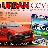 DAIHATSU CLASSY SILVER COVER SELIMUT MOBIL URBAN ANTI AIR WATERPROOF