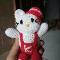 Amigurumi Boneka rajut Hello Kitty